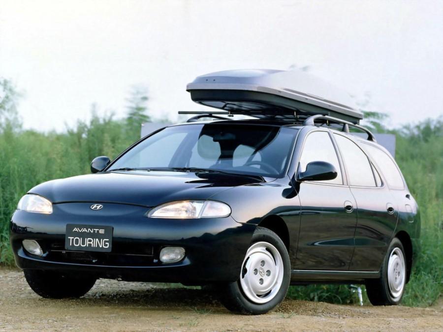 Hyundai Avante Touring универсал, 1995–1998, J2 - отзывы, фото и характеристики на Car.ru