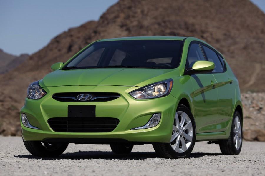 Hyundai Accent хетчбэк, 2011–2016, RB - отзывы, фото и характеристики на Car.ru