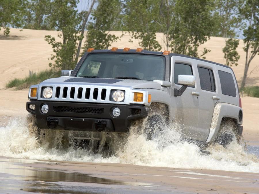 Hummer H3 внедорожник, 2005–2010, 1 поколение - отзывы, фото и характеристики на Car.ru