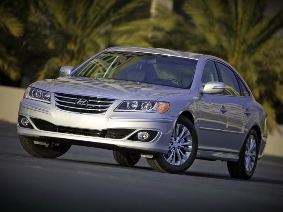 Hyundai Azera седан, 2010–2011, TG [рестайлинг] - отзывы, фото и характеристики на Car.ru