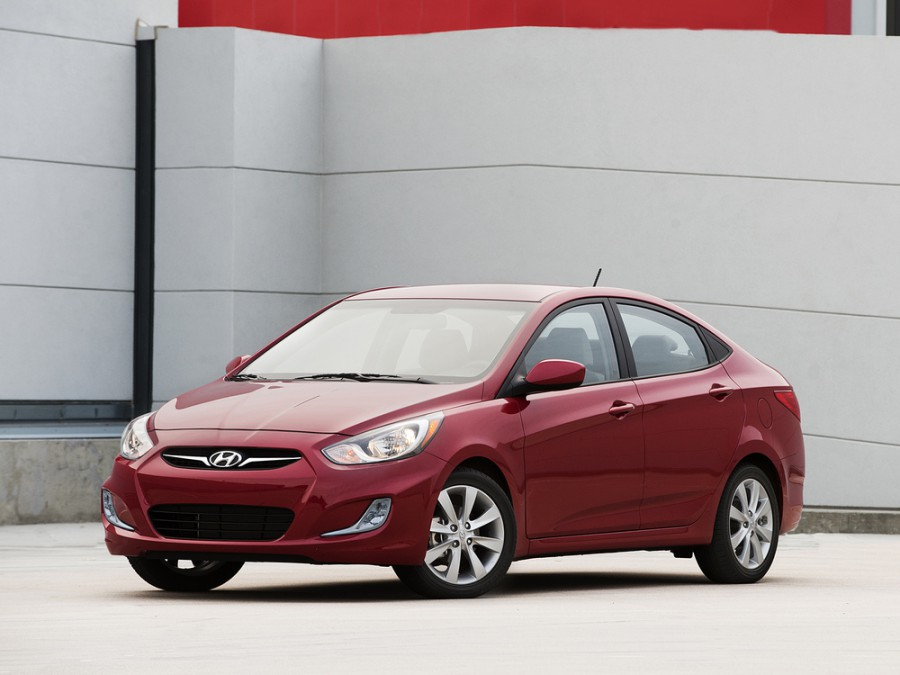 Hyundai Accent седан, 2011–2016, RB - отзывы, фото и характеристики на Car.ru