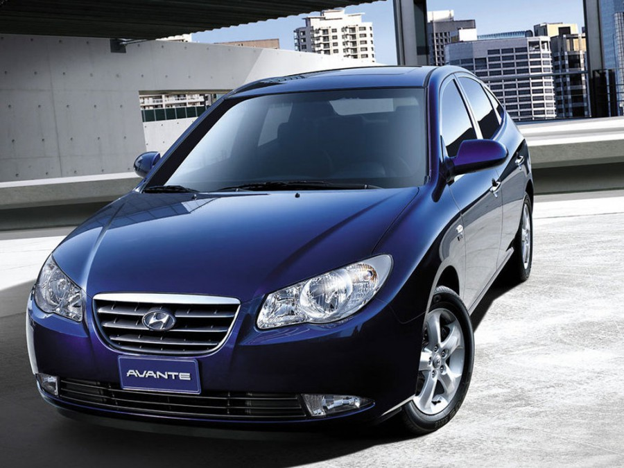 Hyundai Avante седан, 2006–2010, HD - отзывы, фото и характеристики на Car.ru