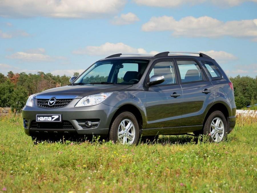 Haima 7 кроссовер, 2012–2016, 1 поколение - отзывы, фото и характеристики на Car.ru