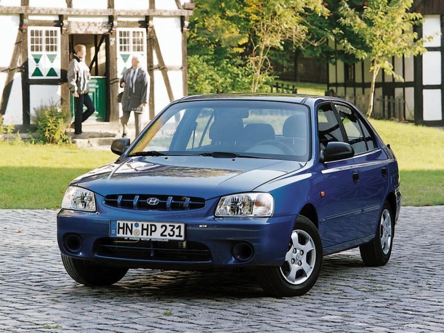 Hyundai Accent хетчбэк 5-дв., 1999–2013, LC - отзывы, фото и характеристики на Car.ru