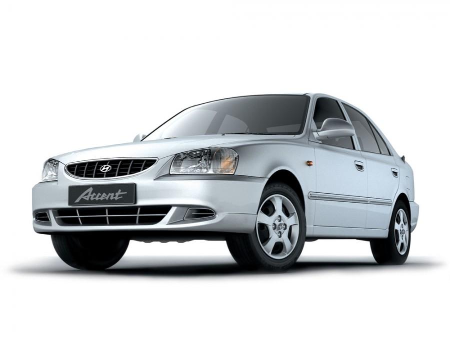Hyundai Accent седан, 1999–2013, LC - отзывы, фото и характеристики на Car.ru