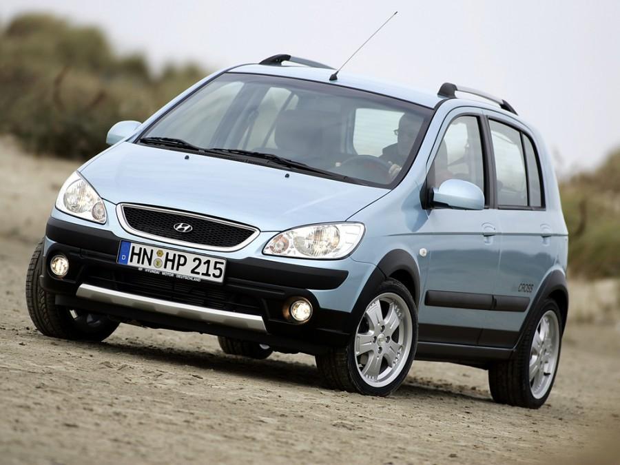 Hyundai Getz Cross хетчбэк 5-дв., 2005–2011, 1 поколение [рестайлинг] - отзывы, фото и характеристики на Car.ru