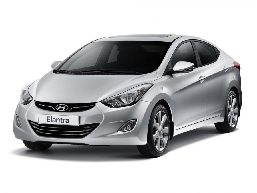 Hyundai Elantra седан, MD, 1.8 AT (150 л.с.), Sport 2012 года, характеристики