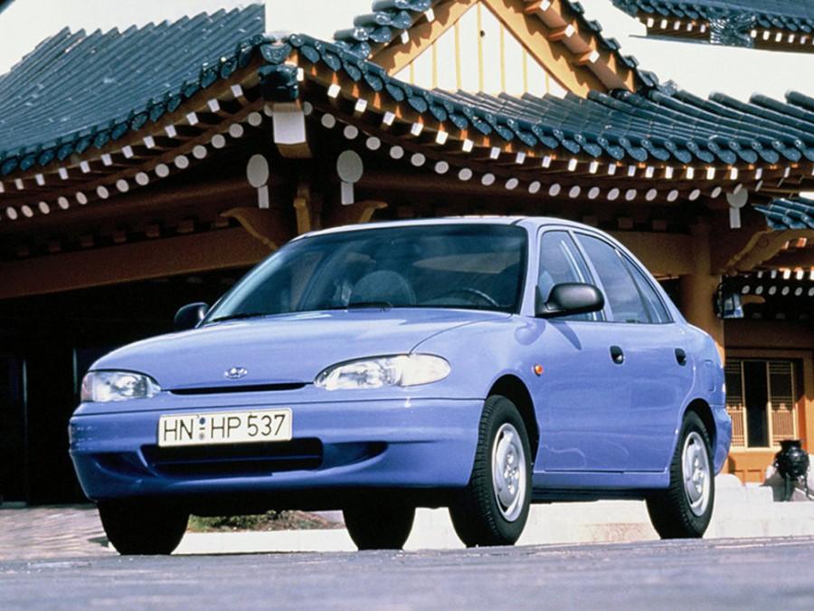 Hyundai Excel седан, 1994–1997, X3 - отзывы, фото и характеристики на Car.ru
