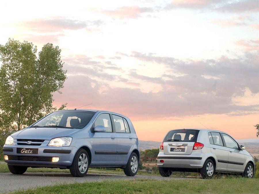 Hyundai Getz хетчбэк 5-дв., 2002–2005, 1 поколение - отзывы, фото и характеристики на Car.ru