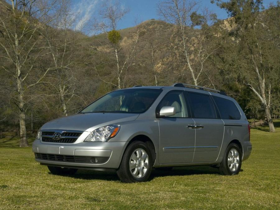 Hyundai Entourage минивэн, 2006–2009, 1 поколение - отзывы, фото и характеристики на Car.ru