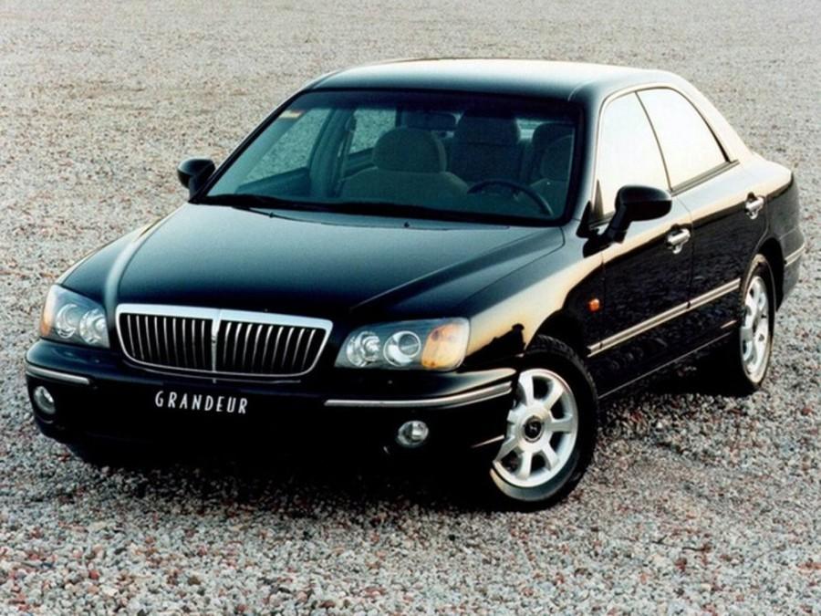 Hyundai Grandeur седан, 1999–2003, XG - отзывы, фото и характеристики на Car.ru