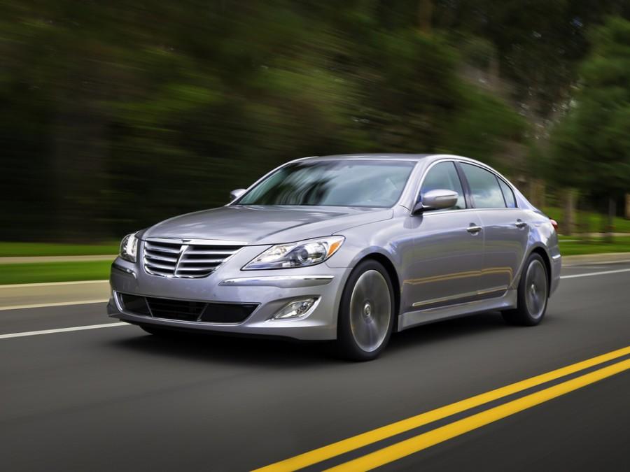 Hyundai Genesis седан, 2011–2014, 1 поколение [рестайлинг] - отзывы, фото и характеристики на Car.ru