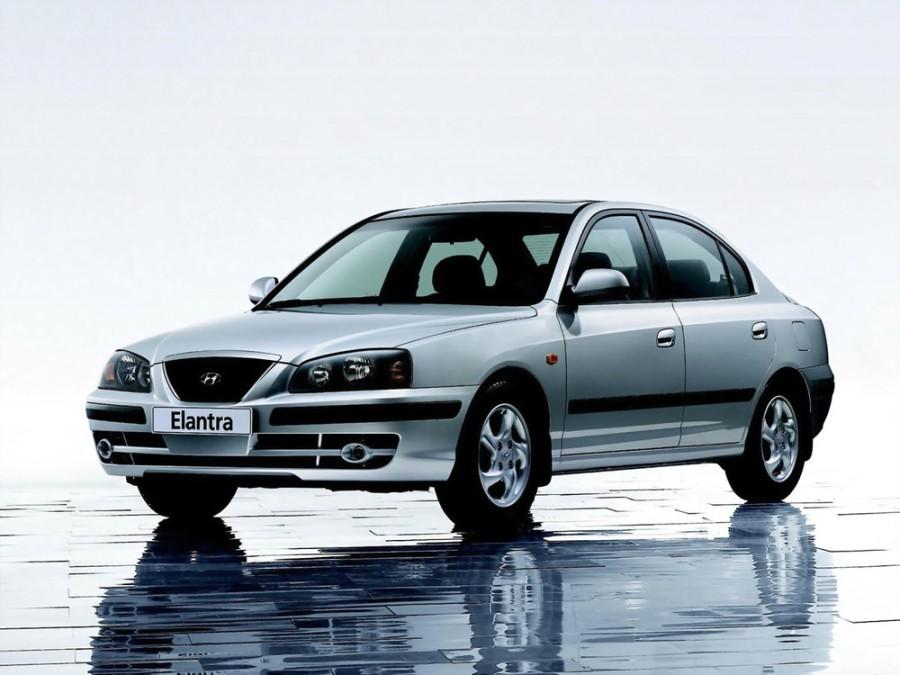 Hyundai Elantra седан, 2003–2006, XD [рестайлинг] - отзывы, фото и характеристики на Car.ru
