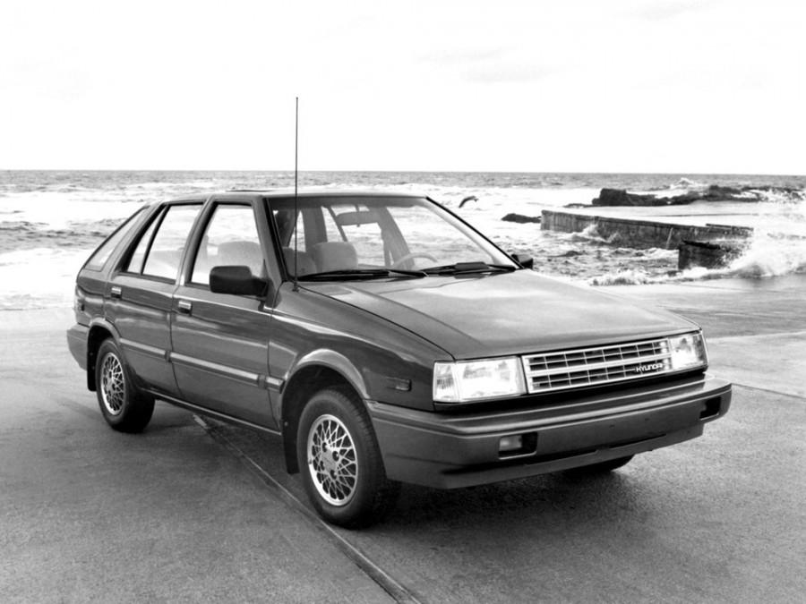 Hyundai Excel хетчбэк 5-дв., 1985–1989, X1 - отзывы, фото и характеристики на Car.ru