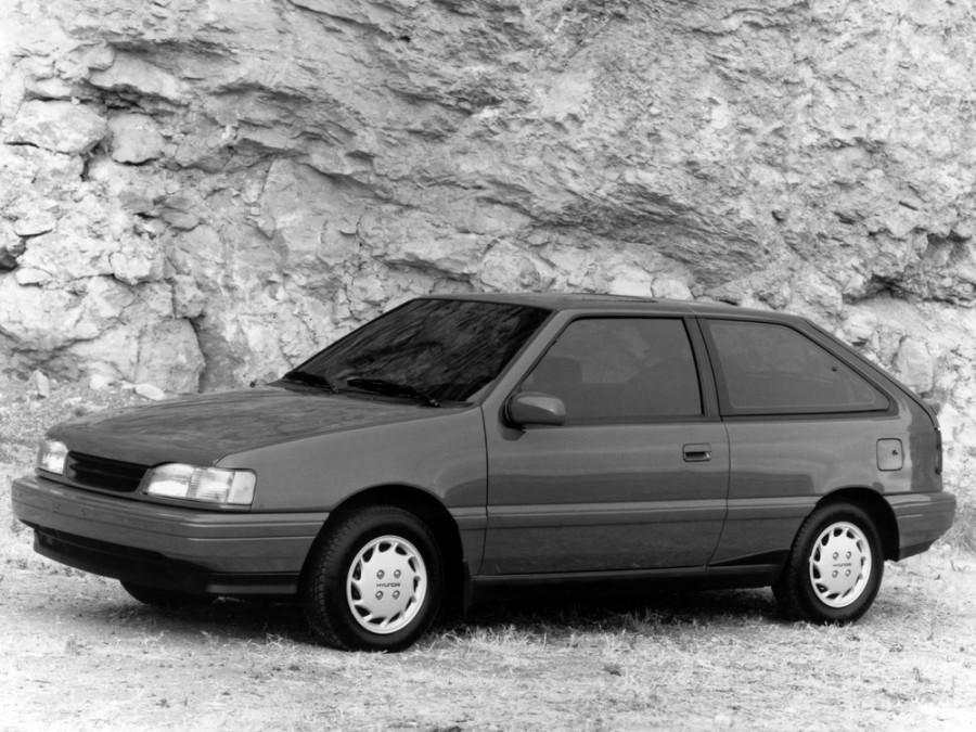 Hyundai Excel хетчбэк 3-дв., 1989–1991, X2 - отзывы, фото и характеристики на Car.ru