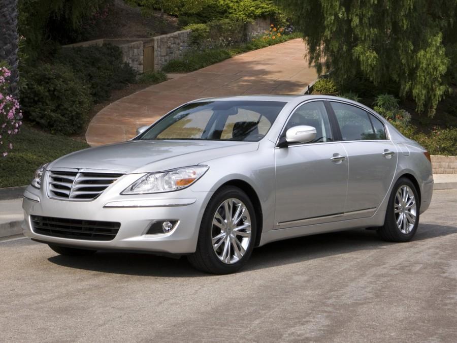 Hyundai Genesis седан, 2008–2012, 1 поколение - отзывы, фото и характеристики на Car.ru