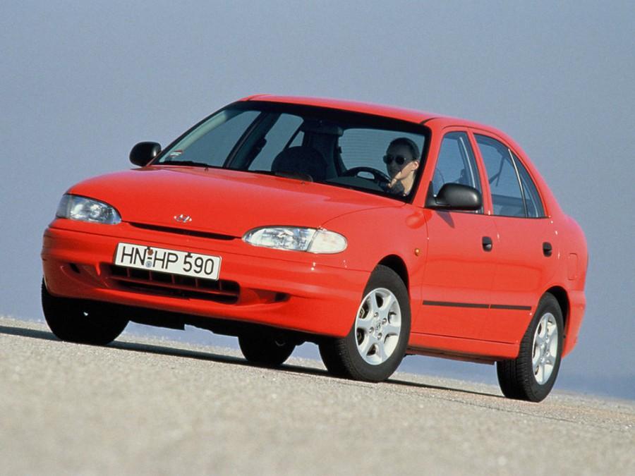 Hyundai Excel хетчбэк 5-дв., 1994–1997, X3 - отзывы, фото и характеристики на Car.ru