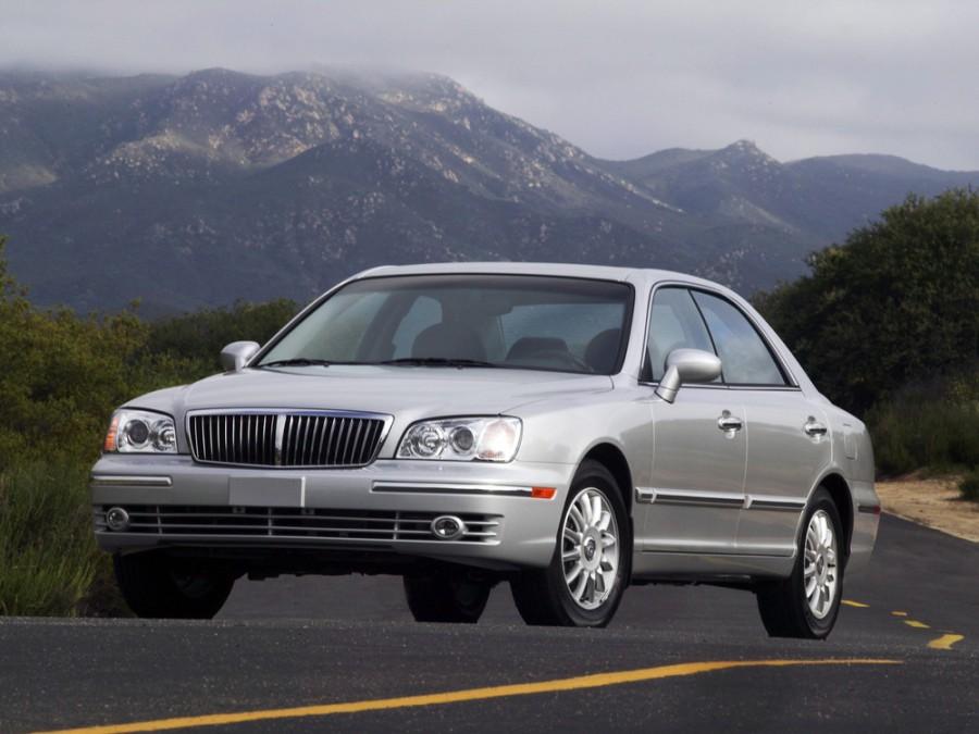Hyundai Grandeur седан, 2002–2005, XG [рестайлинг] - отзывы, фото и характеристики на Car.ru