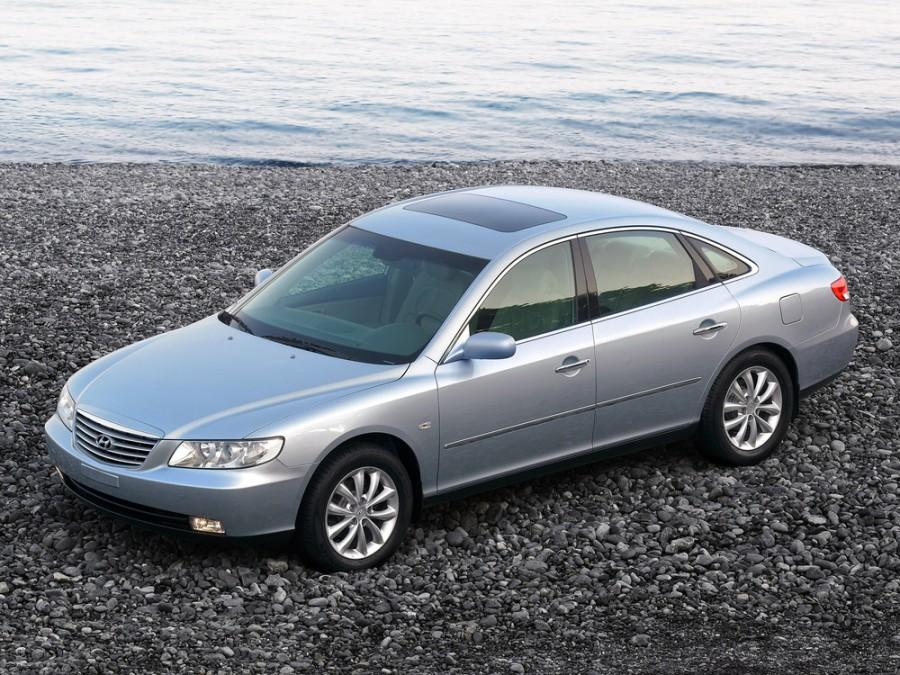 Hyundai Grandeur седан, 2005–2010, TG - отзывы, фото и характеристики на Car.ru