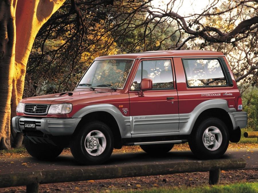 Hyundai Galloper Innovation внедорожник 3-дв., 1998–2001, 2 поколение - отзывы, фото и характеристики на Car.ru