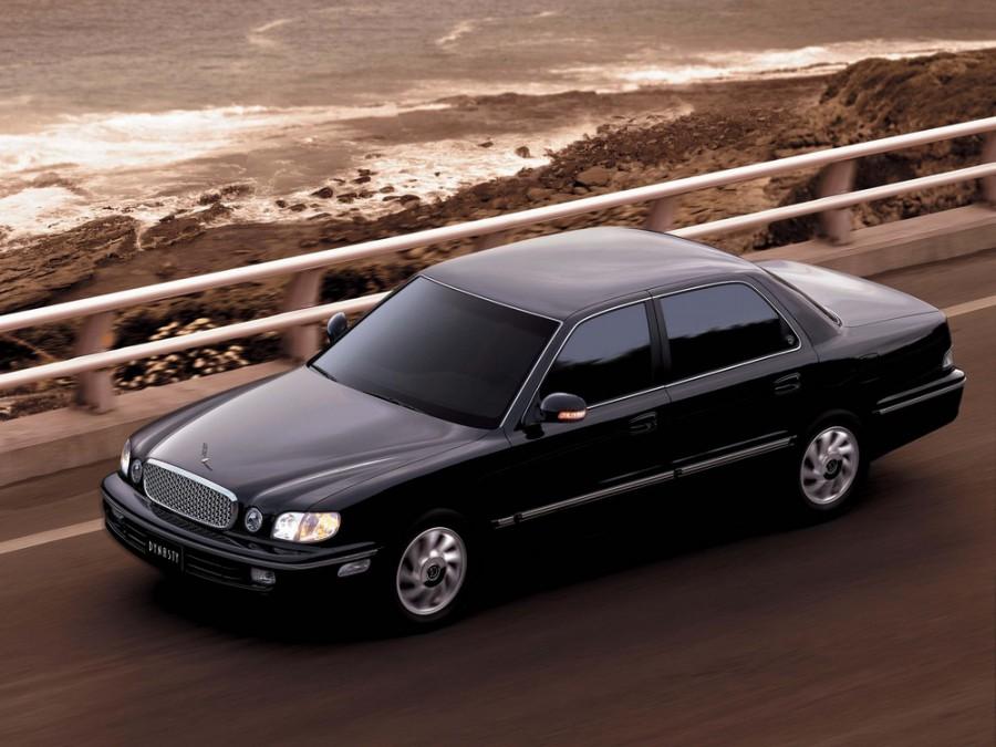 Hyundai Dynasty седан, 1996–2002, 1 поколение [рестайлинг] - отзывы, фото и характеристики на Car.ru