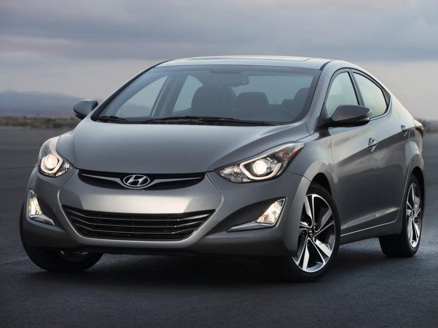 Hyundai Elantra седан, 2013–2016, MD [рестайлинг] - отзывы, фото и характеристики на Car.ru