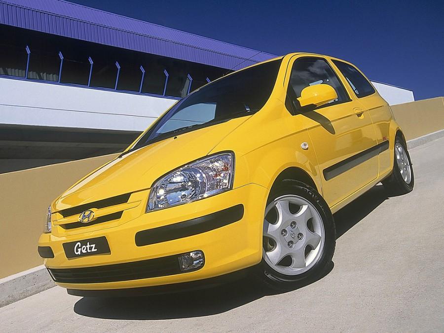 Hyundai Getz хетчбэк 3-дв., 2002–2005, 1 поколение - отзывы, фото и характеристики на Car.ru