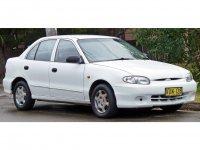 Hyundai Excel, X3 [рестайлинг], Седан, 1994–1999