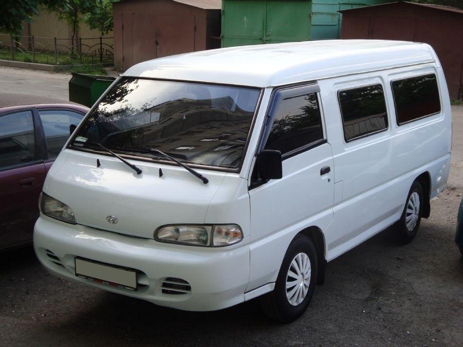Hyundai H-100 микроавтобус, 1 поколение [рестайлинг] - отзывы, фото и характеристики на Car.ru
