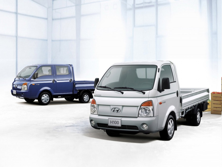 Hyundai H-100 Single Cab борт 2-дв., 2004–2011, 3 поколение - отзывы, фото и характеристики на Car.ru
