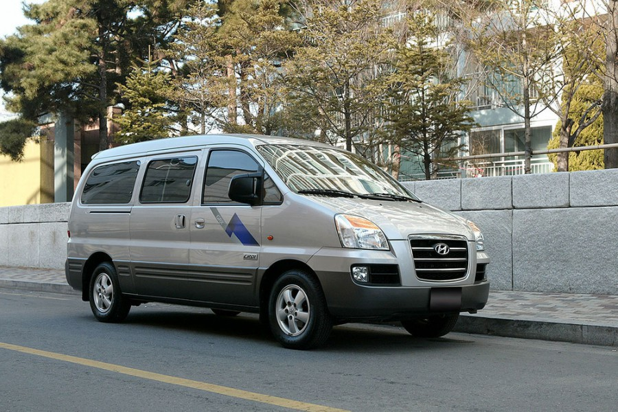 Hyundai Satellite микроавтобус, 1 поколение [рестайлинг] - отзывы, фото и характеристики на Car.ru