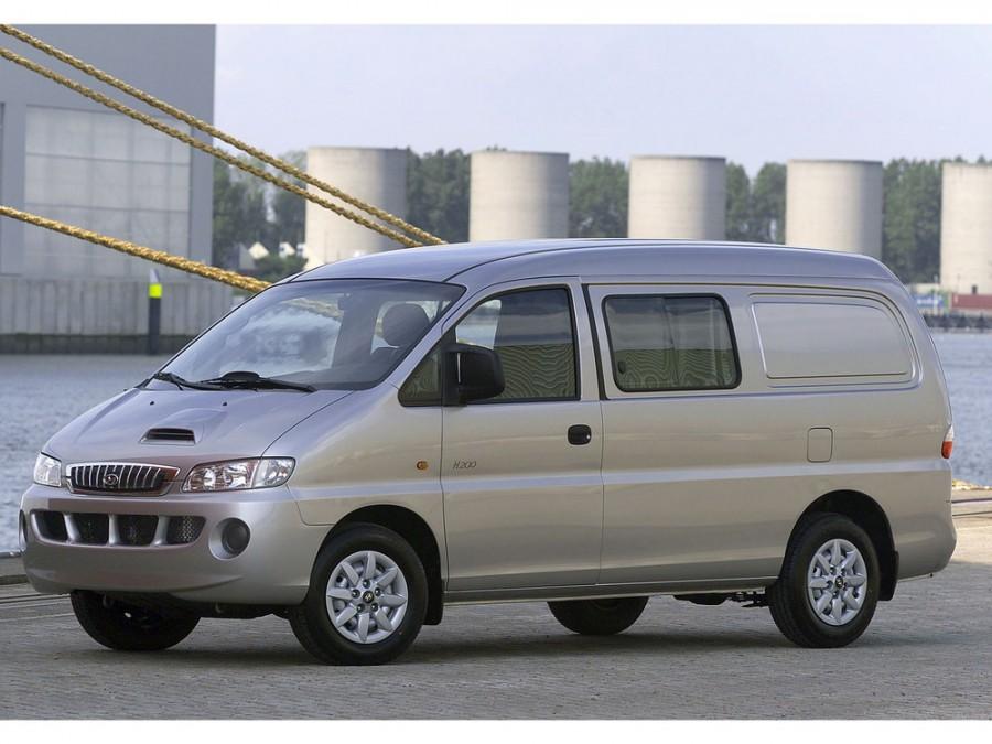 Hyundai H200 фургон, 1 поколение - отзывы, фото и характеристики на Car.ru