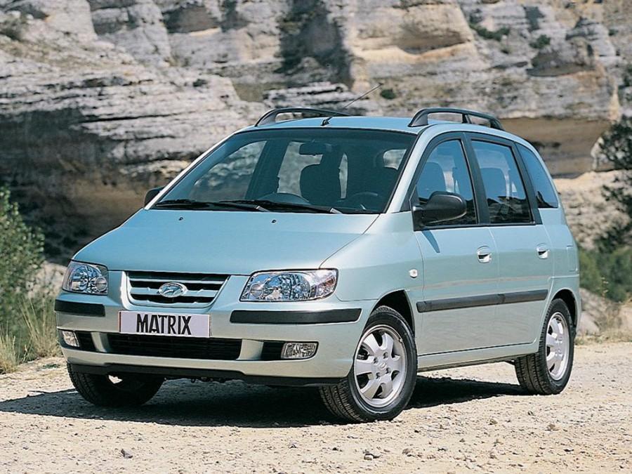 Hyundai Matrix минивэн, 2001–2005, 1 поколение - отзывы, фото и характеристики на Car.ru
