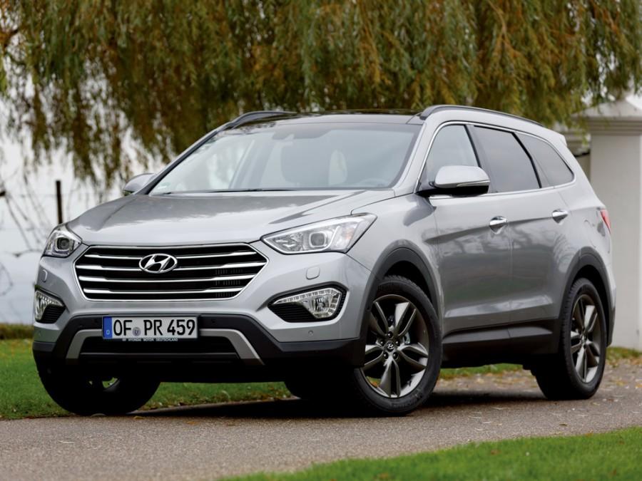 Hyundai Santa Fe Grand кроссовер 5-дв., 2012–2016, DM - отзывы, фото и характеристики на Car.ru
