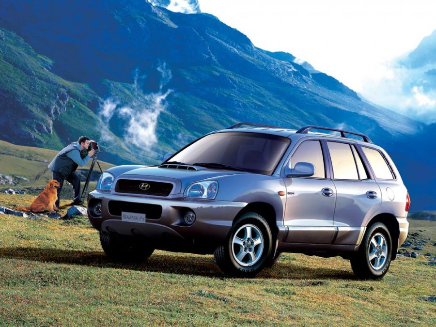 Hyundai Santa Fe кроссовер, 2000–2004, SM - отзывы, фото и характеристики на Car.ru