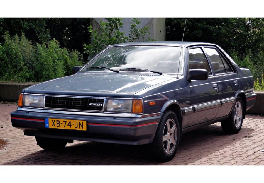 Hyundai Stellar седан, 1983–1986, 1 поколение - отзывы, фото и характеристики на Car.ru