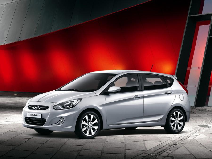 Hyundai Solaris хетчбэк, 2010–2014, 1 поколение - отзывы, фото и характеристики на Car.ru