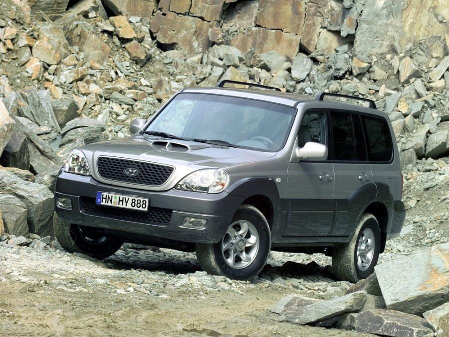 Hyundai Terracan внедорожник, 2004–2007, 2 поколение - отзывы, фото и характеристики на Car.ru
