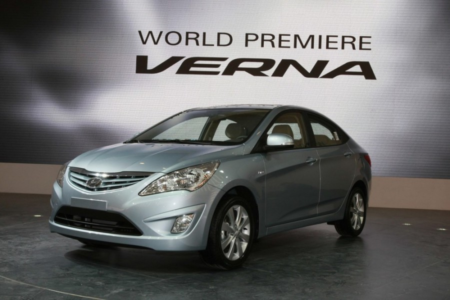 Hyundai Verna седан, 2011–2016, RB - отзывы, фото и характеристики на Car.ru