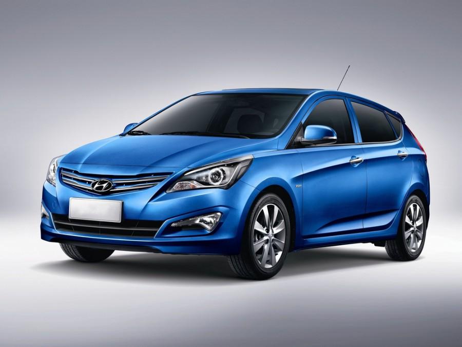 Hyundai Solaris хетчбэк, 2014–2016, 1 поколение [рестайлинг] - отзывы, фото и характеристики на Car.ru