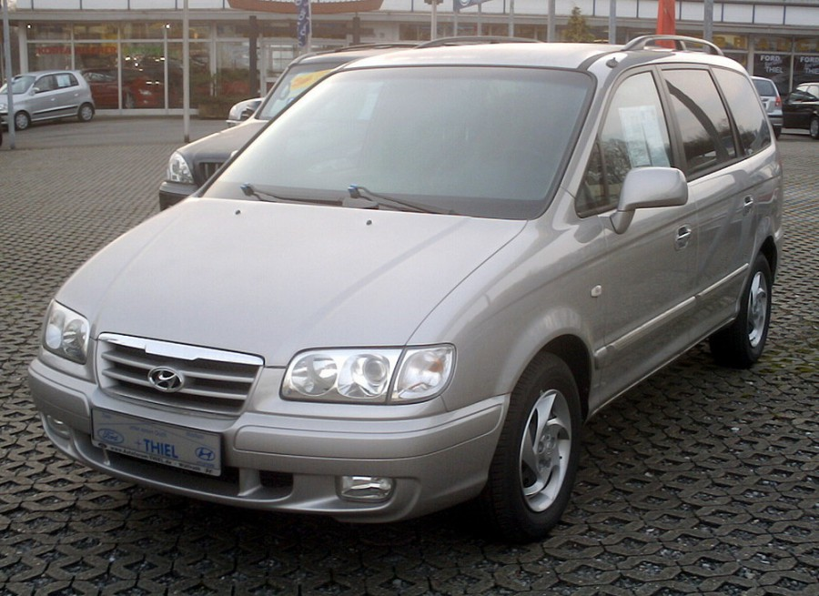 Hyundai Trajet минивэн, 2004–2007, Trajet - отзывы, фото и характеристики на Car.ru