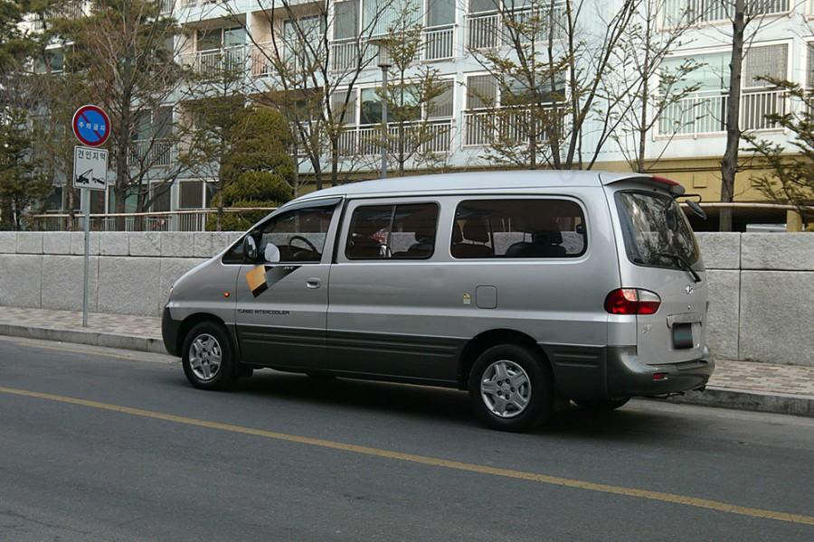 Hyundai Starex микроавтобус, 1 поколение - отзывы, фото и характеристики на Car.ru