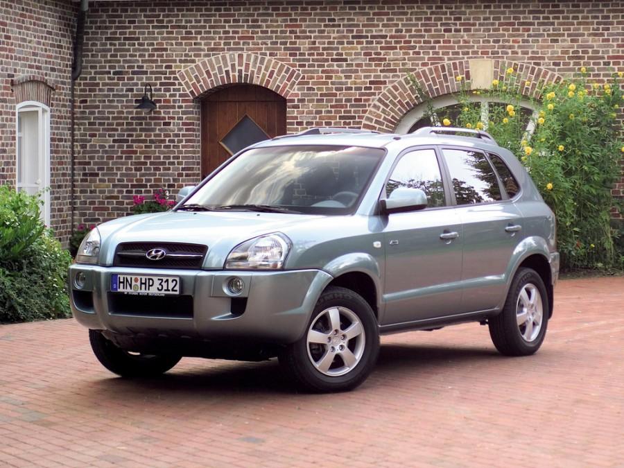 Hyundai Tucson кроссовер, 2004–2010, 1 поколение - отзывы, фото и характеристики на Car.ru