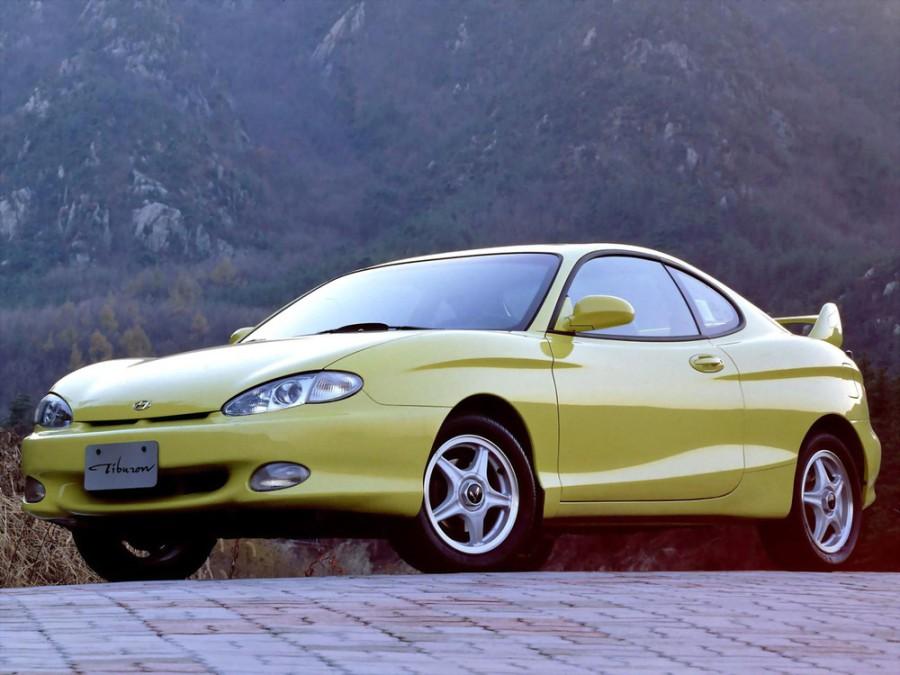 Hyundai Tiburon купе, 1996–1999, RC - отзывы, фото и характеристики на Car.ru