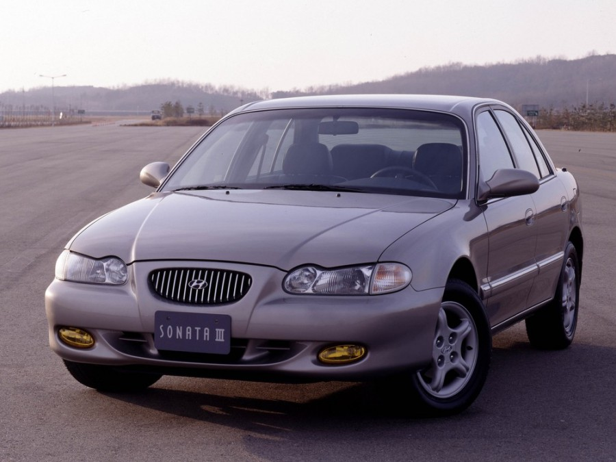 Hyundai Sonata седан, 1996–1998, Y3 [рестайлинг] - отзывы, фото и характеристики на Car.ru