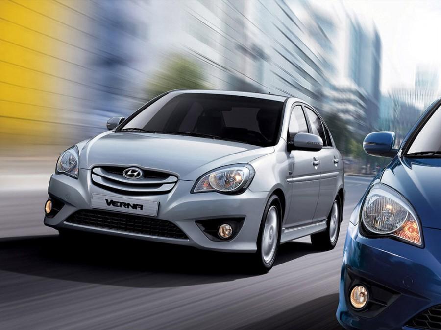 Hyundai Verna Verna Transform седан, 2009–2010, MC [рестайлинг] - отзывы, фото и характеристики на Car.ru