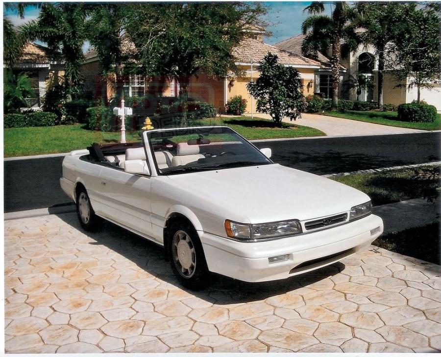 Infiniti M-Series кабриолет, 1990–1992, F31 - отзывы, фото и характеристики на Car.ru