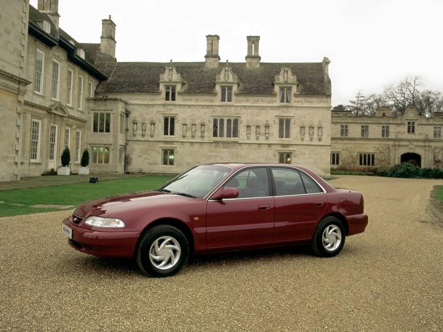 Hyundai Sonata седан, 1993–1996, Y3 - отзывы, фото и характеристики на Car.ru