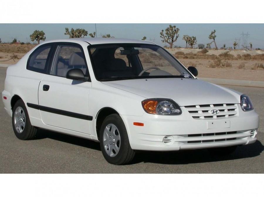 Hyundai Verna хетчбэк 3-дв., 2000–2003, LC - отзывы, фото и характеристики на Car.ru