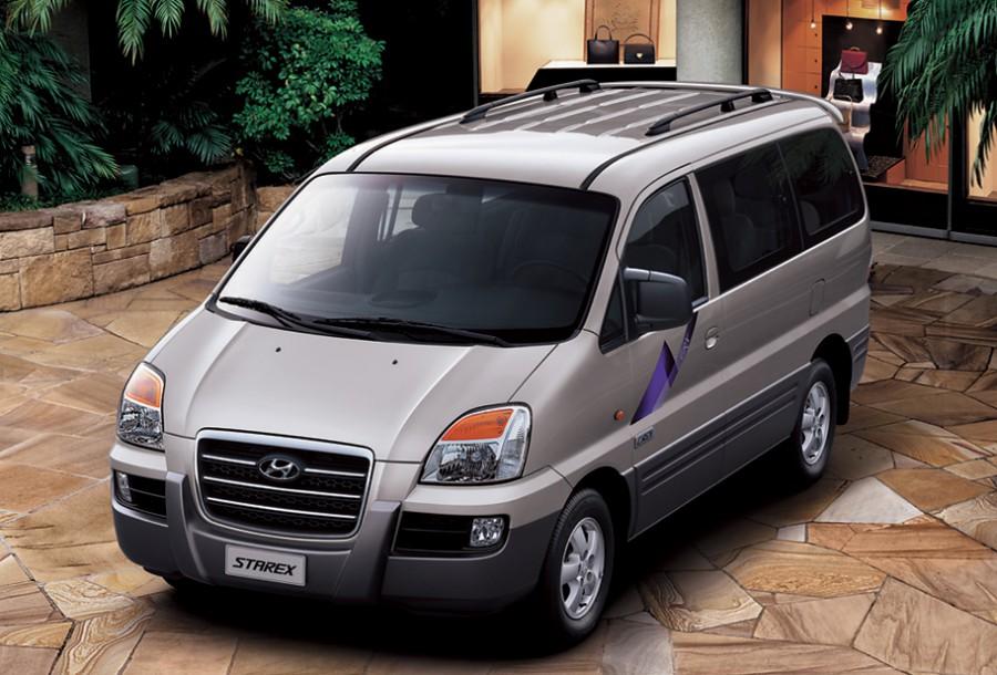 Hyundai Starex микроавтобус, 1 поколение [рестайлинг] - отзывы, фото и характеристики на Car.ru